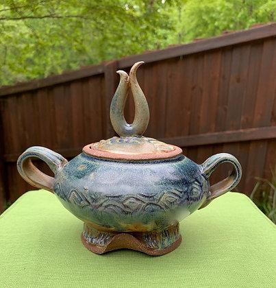 Flame Sugar Bowl
