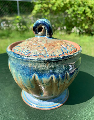 Lidded Sugar Bowl