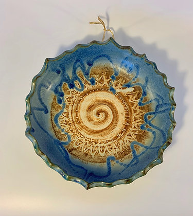 Hanging Spiral Bowl