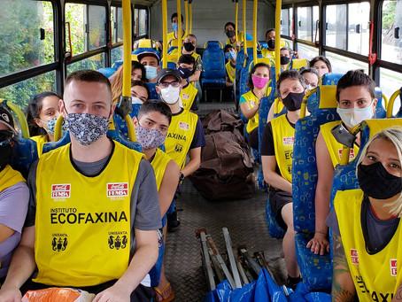 Voluntários retornam ao manguezal após 5 meses de pausa