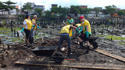 93ª Ação Voluntária EcoFaxina - Rio dos Bugres, Santos