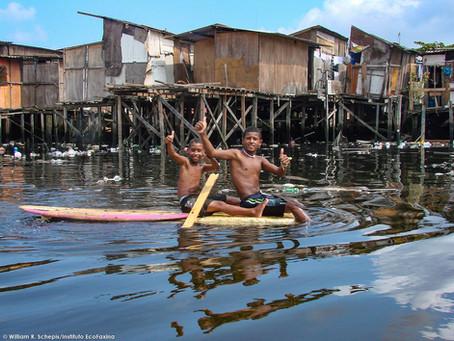 O estuário de Santos não teve o que comemorar no Dia Mundial da Água