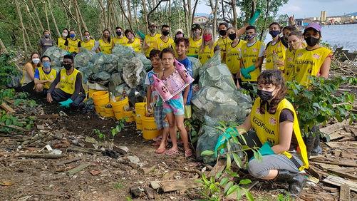 118 Ação Voluntária EcoFaxina