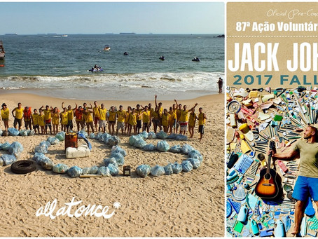 Instituto EcoFaxina recebe apoio do músico Jack Johnson