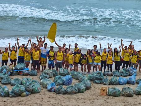 Praia de Paranapuã receberá voluntários do Instituto EcoFaxina e da Coca-Cola neste sábado.