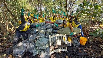 122ª Ação Voluntária EcoFaxina