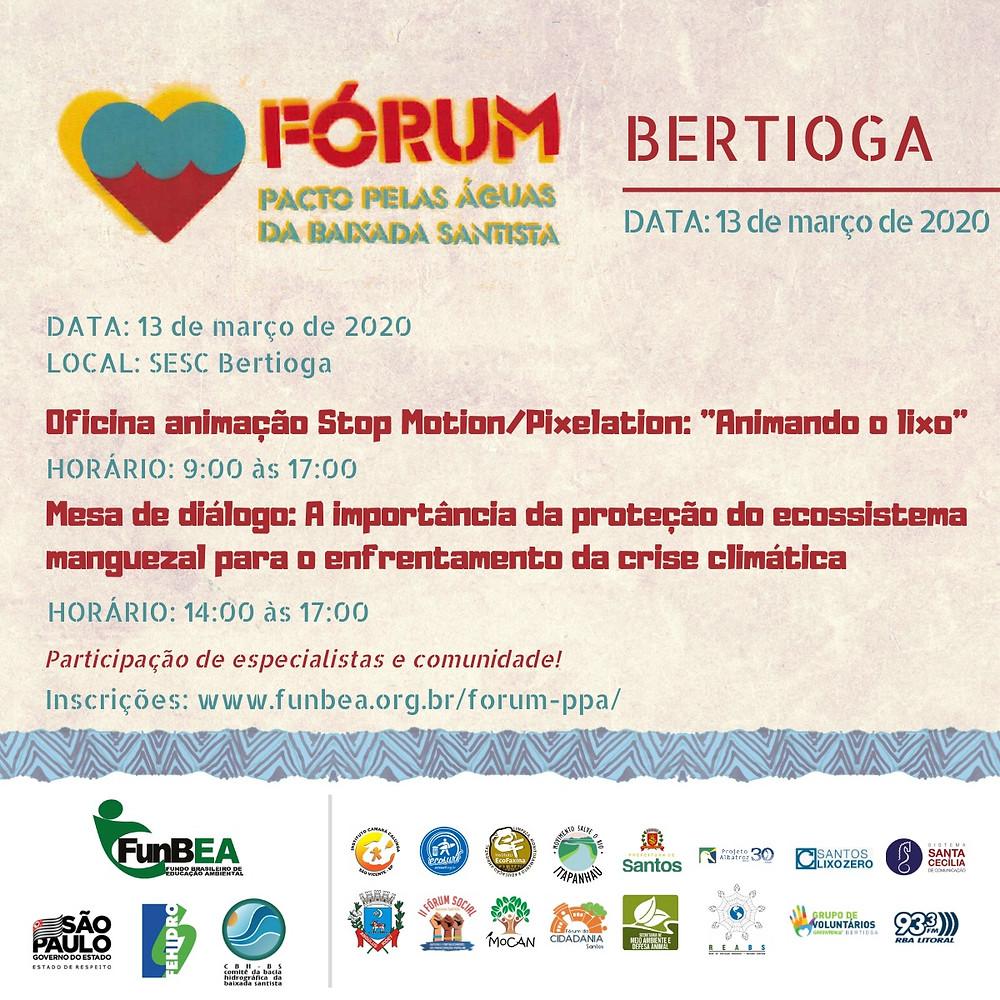 Cartaz do evento.