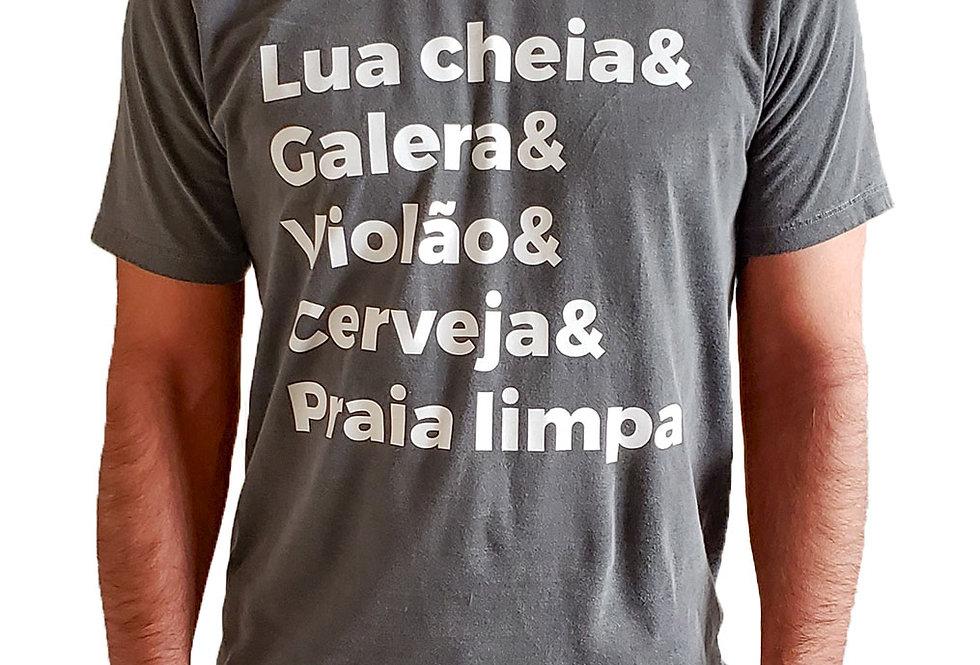 Camiseta Praia Limpa