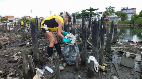 92ª Ação Voluntária EcoFaxina - Rio dos Bugres, Santos
