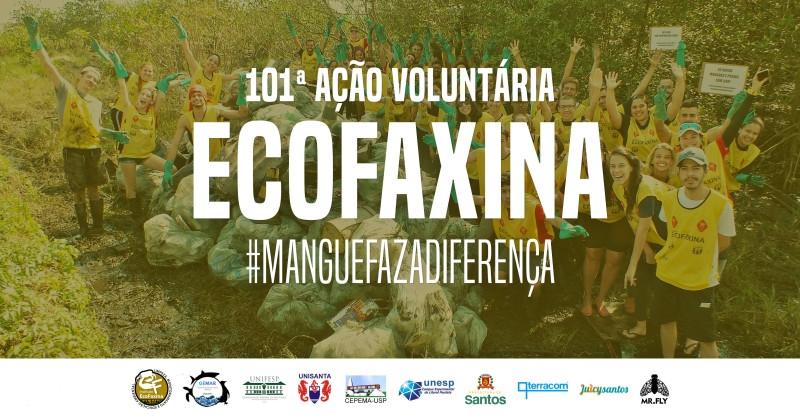 101ª Ação Voluntária EcoFaxina - Zona Noroeste, Santos