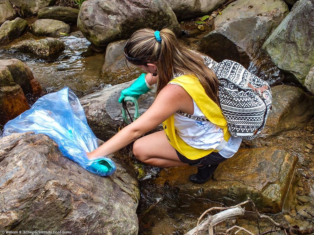 80ª Ação Voluntária EcoFaxina - Parque Ecológico do Rio Perequê