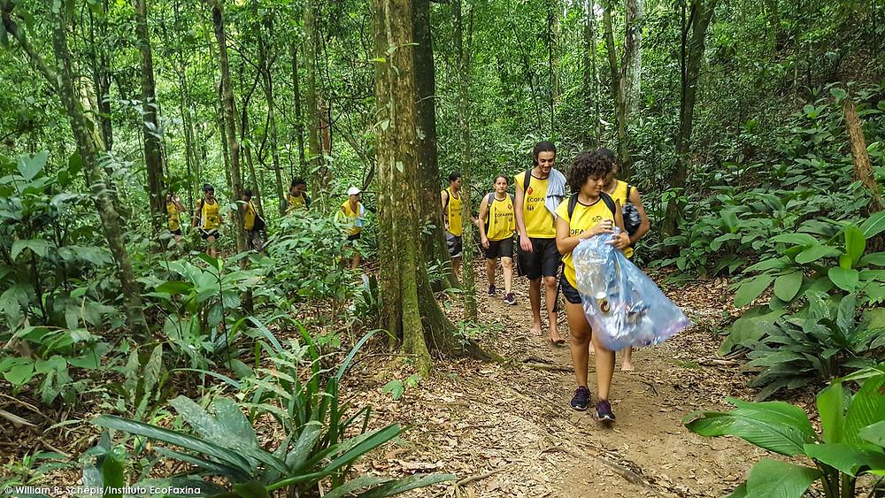 80ª Ação Voluntária EcoFaxina -Parque Ecológico do Rio Perequê