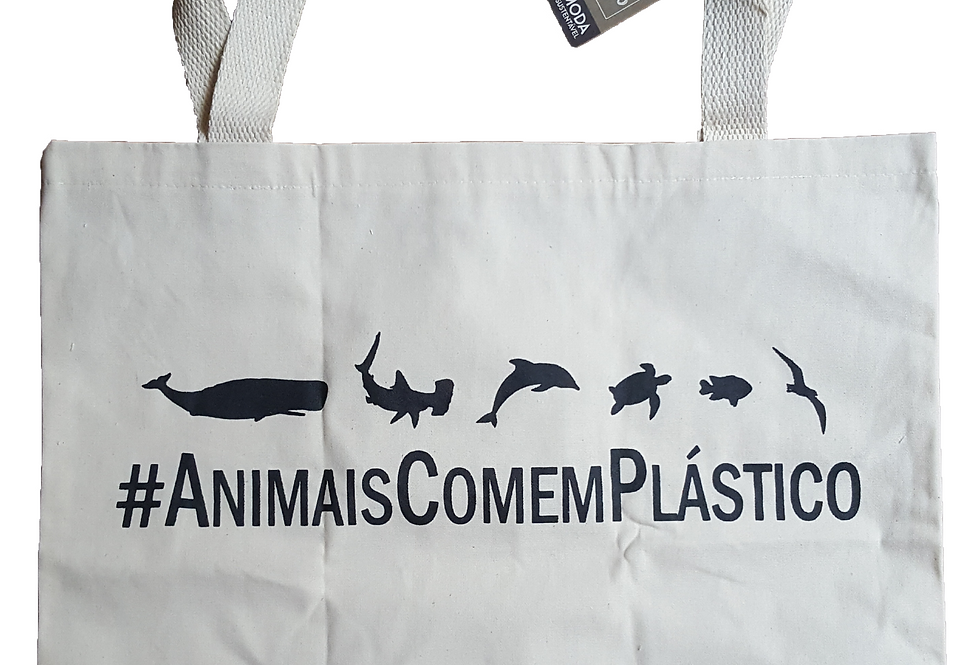 Ecobag #AnimaisComemPlástico