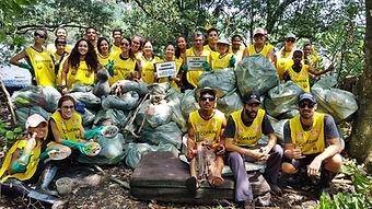 113ª Ação Voluntária EcoFaxina