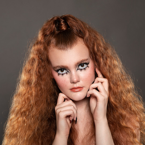 Photographer: Bonni Blu Model: Adeline Troutman Hair: Harriet Saneka  Makeup: Rachael Cawthon