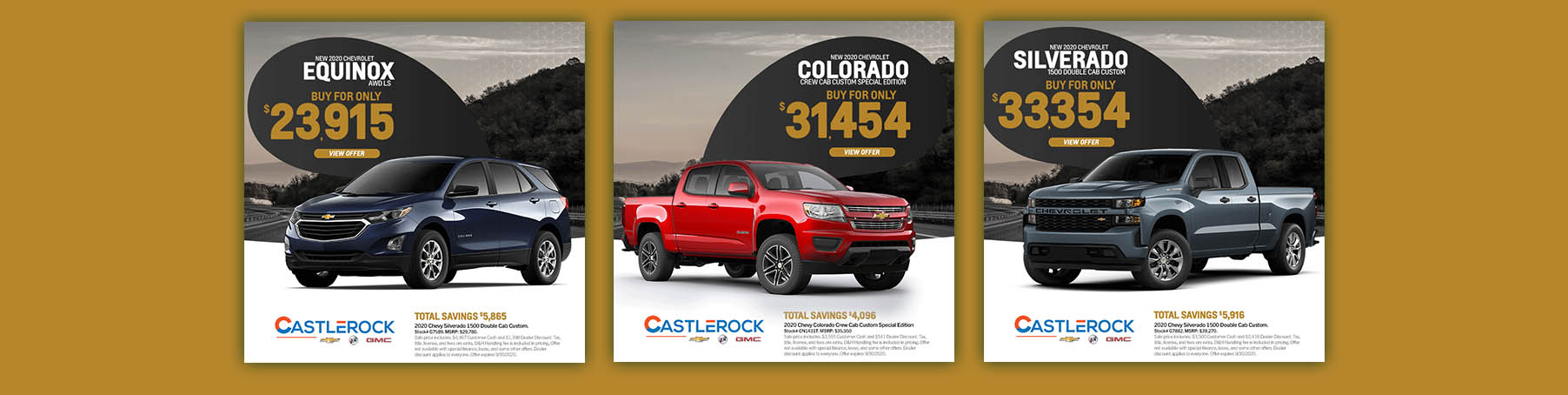 CR CHEVY LP 3 OFFERS SEPT