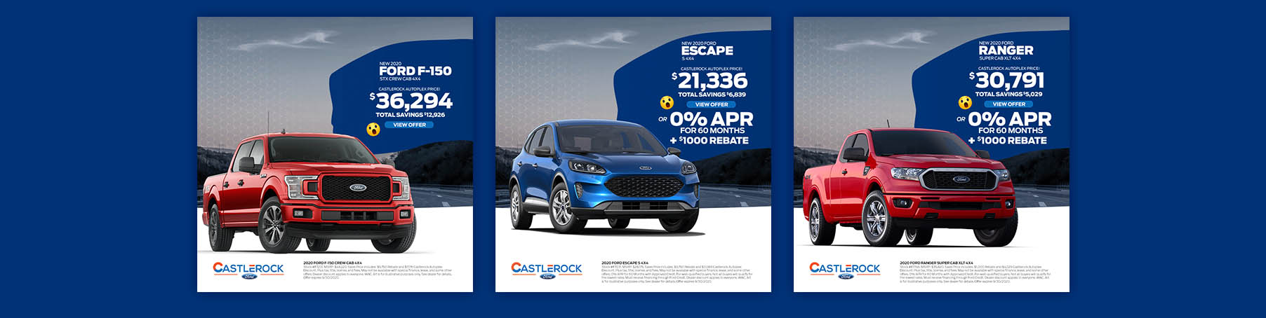 CR FORD LP 3 OFFERS SEPT