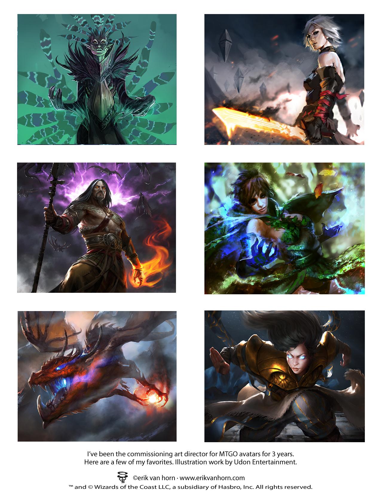 MTGO Avatars