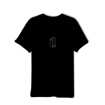 INSIDEOUT T-SHIRT BLACK