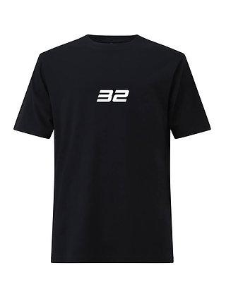 32 T-SHIRT BLACK