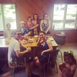Red Fox Hawaiian birthday party