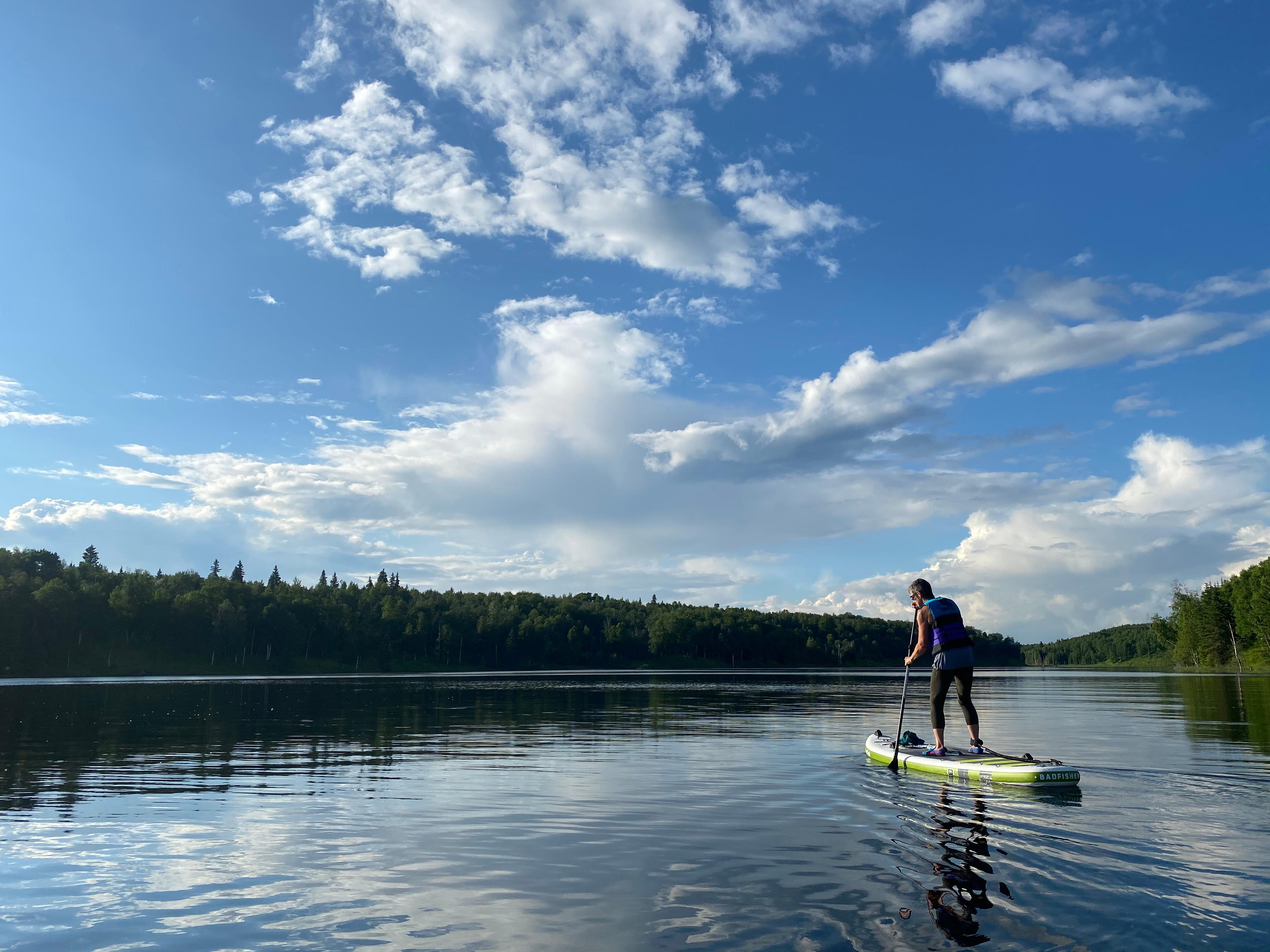 Advanced Flat Water SUP Skills