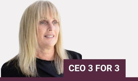 CEO 3 FOR 3 with Debbie Kilroy OAM