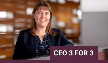 CEO 3 FOR 3 with Marnie Baker