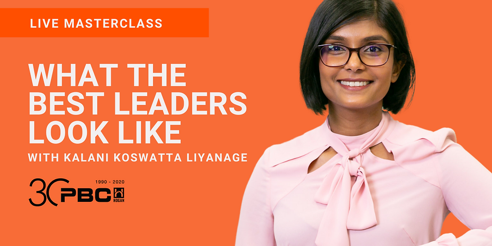 WLA CONNECT LIVE MASTERCLASS    WHAT THE BEST LEADERS LOOK LIKE