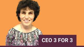 CEO 3 FOR 3 with Emma Bennison
