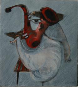 Saxofón piccolo II