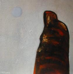 Tarde de luna azul