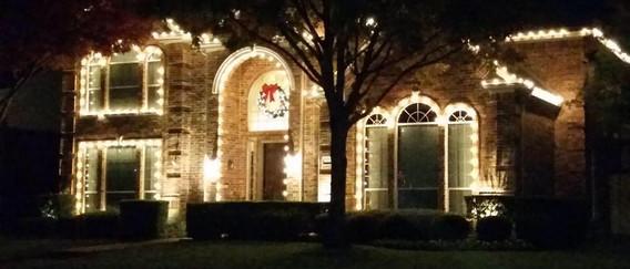 Christmas Lights By Firemen