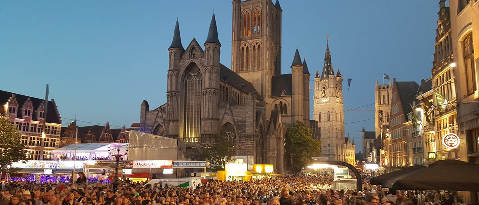 Ghent festival July 2018