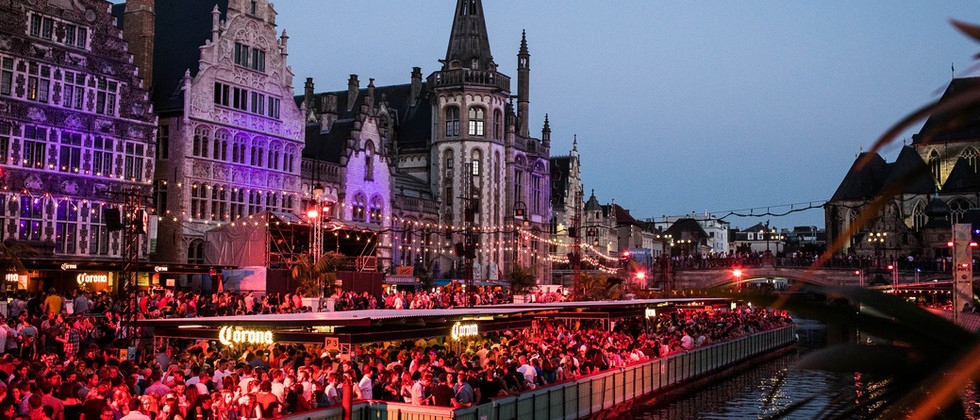 Ghent festival in July 2019
