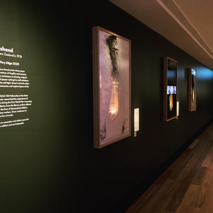 Installation View:  Here I Came to the Very Edge
