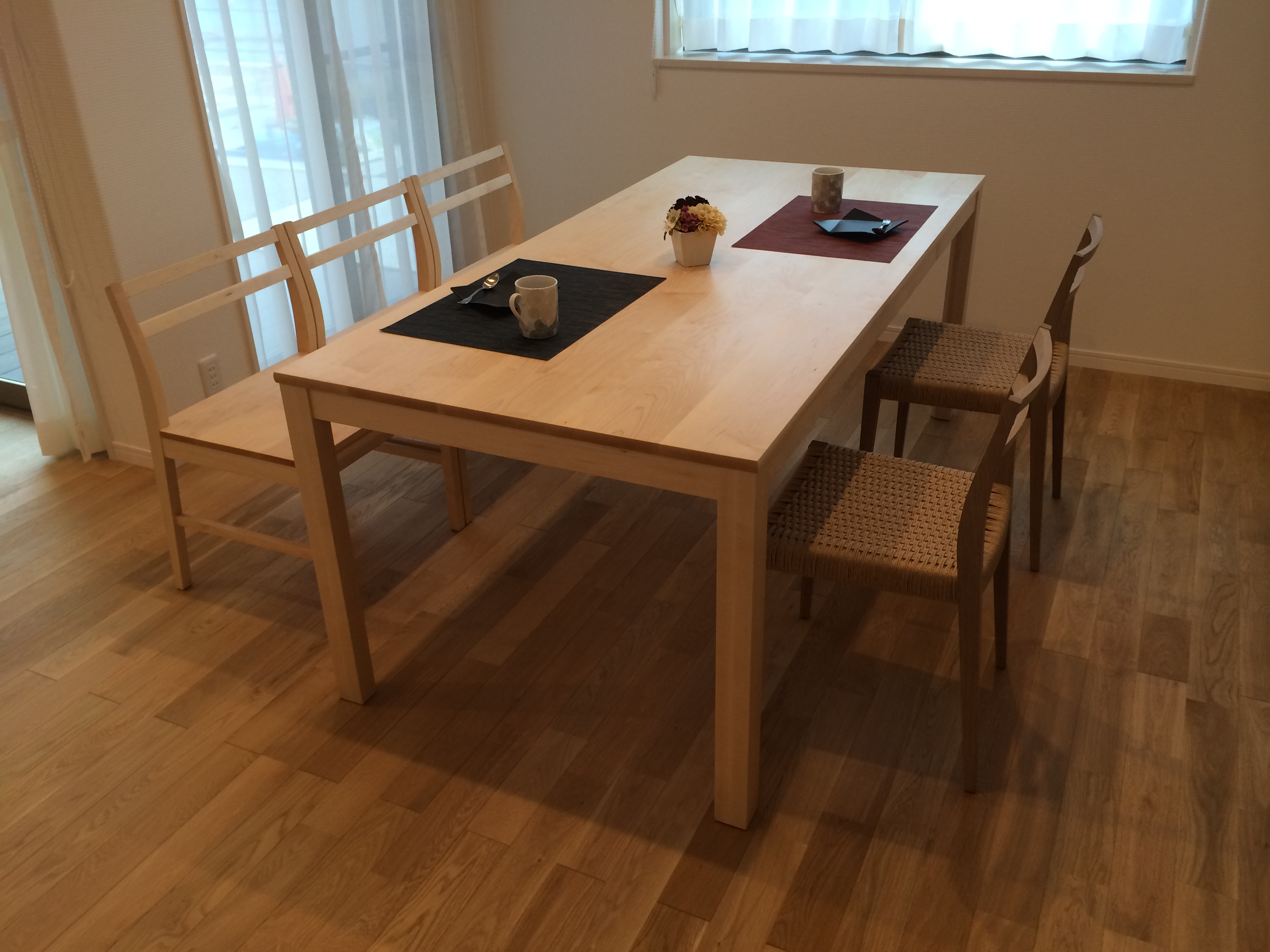 #012 dining table