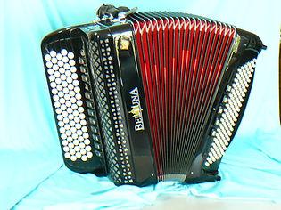 6 Beltuna 4 chörig Stufentastatur (ohne casotto)