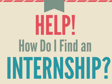 It's internship season...