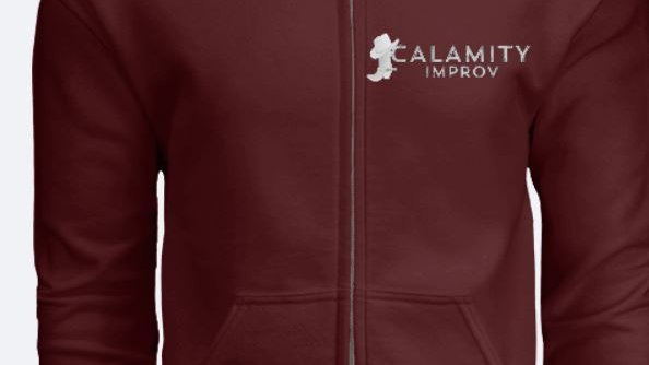 Calamity Improv Zip Up Hoodie
