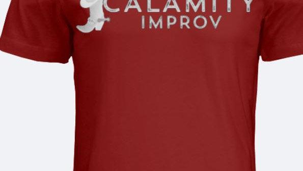 Calamity Improv Crew Neck T-Shirt Full Logo