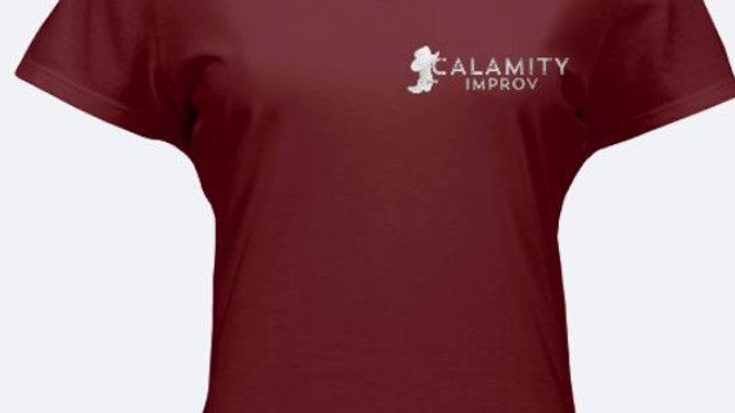 Women's Calamity Improv V-Neck T-Shirt