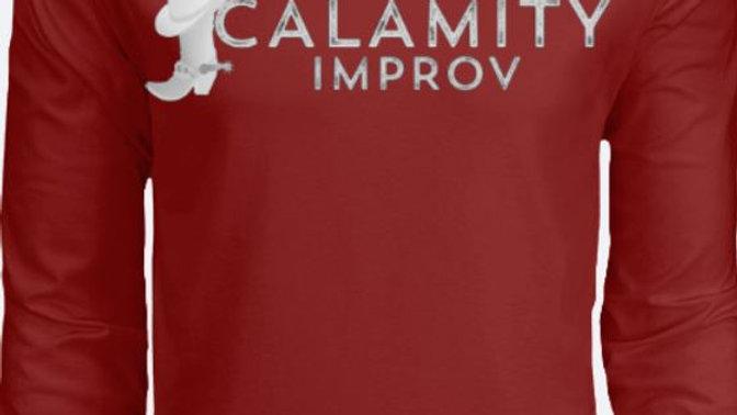 Calamity Improv Long Sleeve Crew Neck T-Shirt Full Logo
