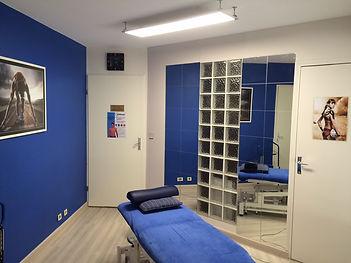 Salle de consultation Kinésithérapie et Ostéopathie