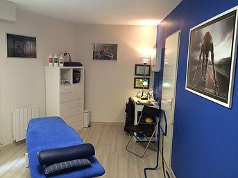 Salle de consultation en Kinésithérapie et Ostéopathie
