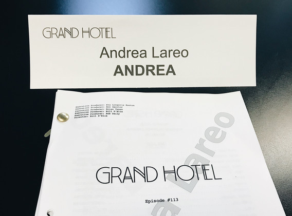 Grand Hotel table read