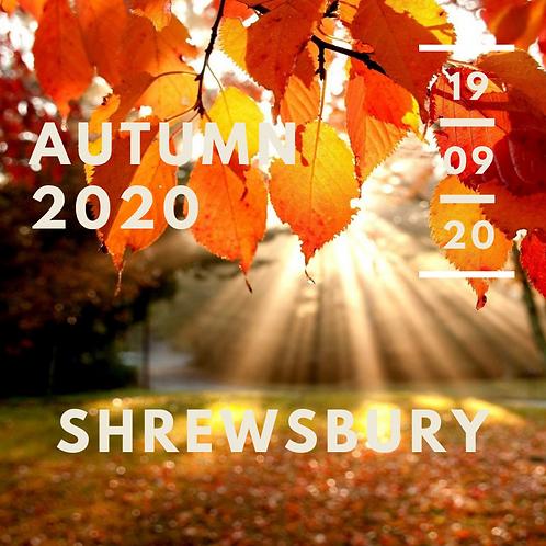 Autumn 2020, Shrewsbury