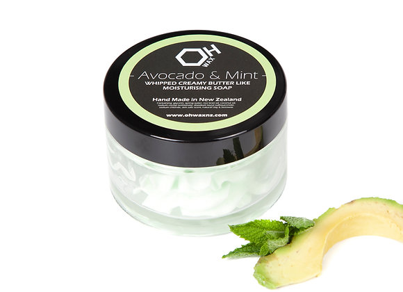 Avocado & Mint Whipped Soap