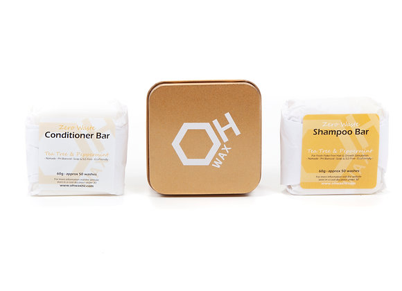 Tea Tree & Peppermint Hair Trio