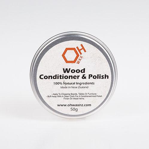 Natural Beeswax Conditioner & Polish (50g)